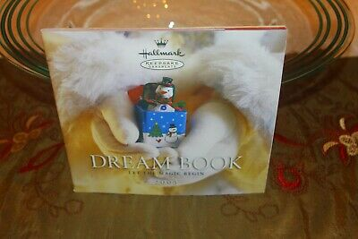 Hallmark Keepsake Ornaments Dream Book 2003