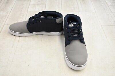 Lacoste Kids' Ampthill 417 1 CAJ Sneaker - Big Boy's Size 6.5, Navy/Gray