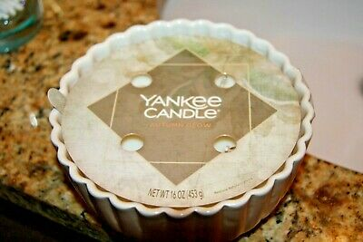NEW! Rare Yankee Candle 4-Wick Autumn Glow Keepsake Container 16 oz White Label