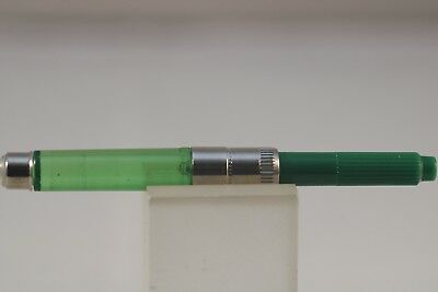 Vintage Cross Green Ink Convertor, Mint Condition