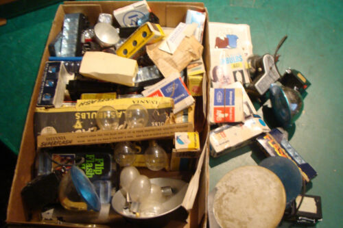 Vintage huge lot of FLASH BULBS