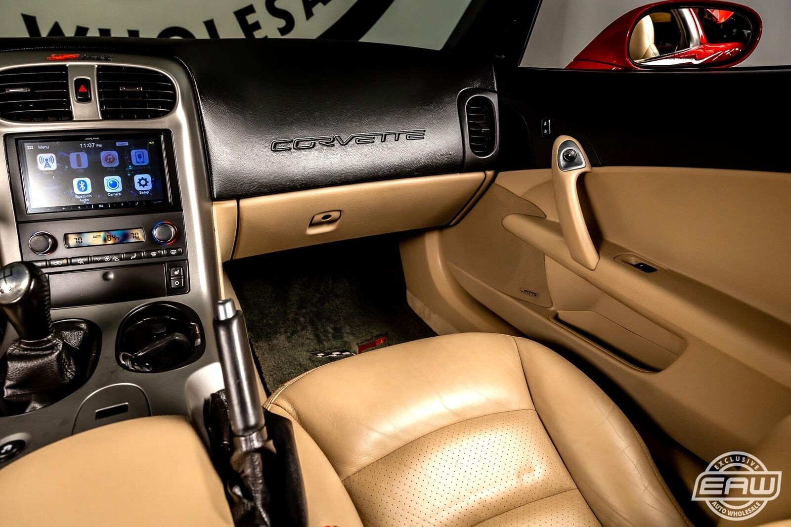 2005 Red Chevrolet Corvette Coupe  | C6 Corvette Photo 8