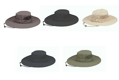 Propper Tactical Summerweight Wide Brim Bonnie Sun Hat 94/6 Spandex Ripstop