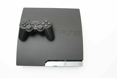 Sony PlayStation PS3 Slim 160GB Charcoal Black Console
