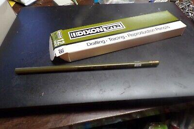 One Dozen 12 Vintage Dixon #7500 DTR  3B Pencils Drafting Tracing Reproduction