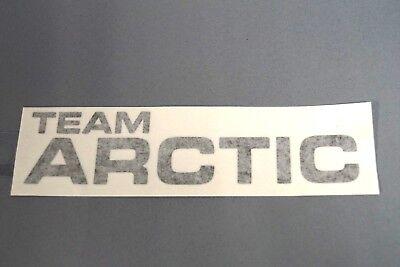 """OEM Black Team Arctic Cat Decal Sticker 6"""" x 1"""" 5293-773"""