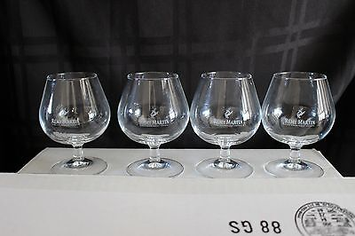 Remy Martin Cognac Snifter Glasses, set of 4,  Brand New, Never Used