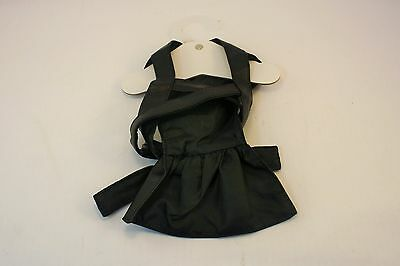New Black Faux Leather Vampire Cape Dog Halloween Costume Size L  - Vampire Costumes For Dogs