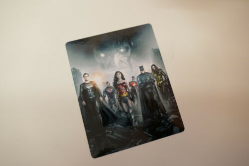 JUSTICE LEAGUE snyder cut - Glossy Bluray Steelbook Magnet Cover NOT LENTICULAR