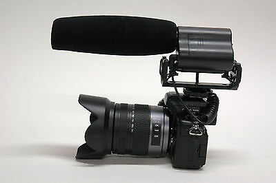Pro G40 Vm Xl C4 Camcorder Stereo Mic For Canon Vixia Ful...