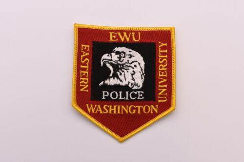 Eastern Washington University EWU Collectible Police Patch