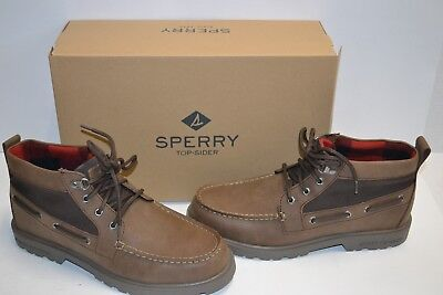 Sperry Top-Sider Men/'s Gold Cup Norfolk Chukka ASV Brown Boots STS14072 NIB