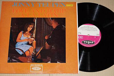 JOHNNY TEUPEN -Love And Harp A La Latin- LP Vogue Schallplatten (LDVS 17083)