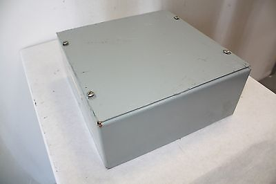 Hubbell Wiegmann Sc101004 Wall Mount Enclosure - No Knockouts
