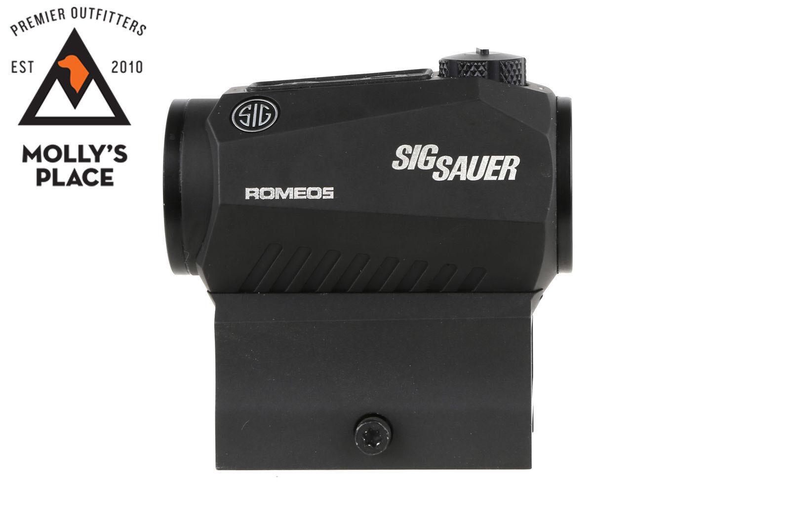 Sig Sauer SOR52001, Romeo 5 1x20mm 2 MOA Red Dot Sight w/ Mounts