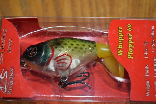 River2Sea Whopper Plopper 60 Topwater Fishing Lure *New Size* (Bluegill) NIP