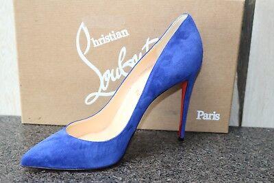 NIB Christian Louboutin Pigalle Follies 100 Suede Classic Pumps Shoes 39
