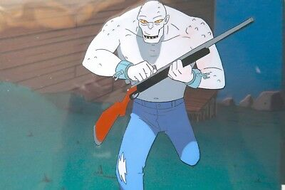 KILLER CROC animation cel from the Batman Animated Series w/ Original