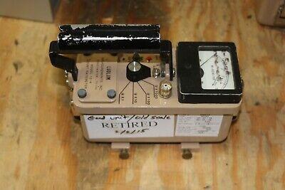 Ludlum Model 12-4 Neutron Dose Survey Meter