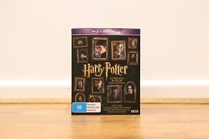 Harry Potter Complete Collection Bluray DVD Boxset