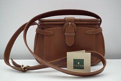 GUCCI * RARE Stunning Vintage leather shoulder bag / handbag / purse