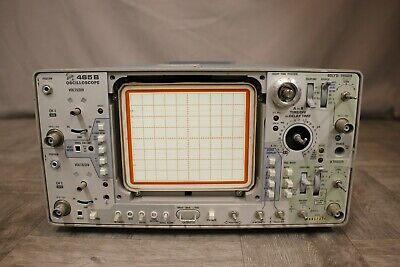 Tektronix 465b Oscilloscope For Parts
