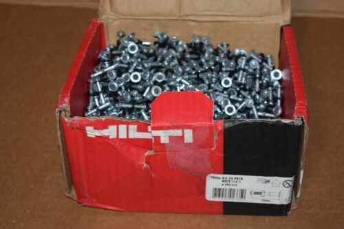 "HILTI X-C 22 P8TH 7/8"" STD FASTENER DIRECT FASTENING 1000 COUNT, #2091375"