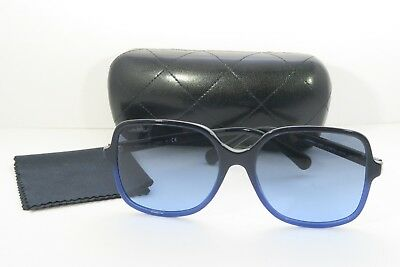 a8f053af62 Chanel Women s Blue Sunglasses with case 5349 c.1558 S2 58mm