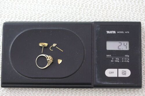 Investment Gold - Scrap 14k Gold Pieces - 2.4 Grams