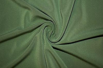 Ткань Olive Solid ITY Polyester Lycra