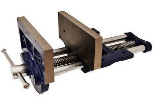 Tornillo de banco para carpintero 150 mm mordaza de mesa for Gato de carpintero