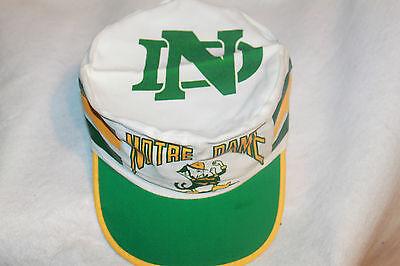 newest e7d3d 82c4d Notre Dame Fighting Irish NCAA Painters Cap Hat Vintage Rare Old School