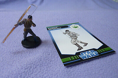 Star Wars Miniatures Jedi Academy - Exceptional Jedi Apprentice #26 + Card