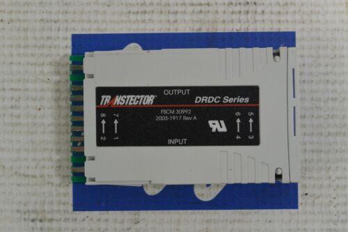 TRANSTECTOR FSCM30992 DRDC SERIES 2003-1917 REV A