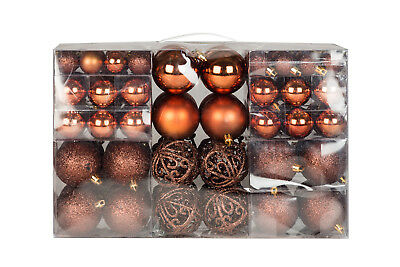 Exclusiva Bolas de Navidad para Árbol Set Con 100 Unidad Color Braun...