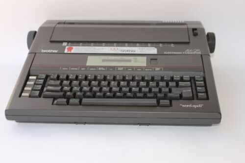 Brother Ax-25 Electronic Electric Typewriter Word Processor Type Writer AX25