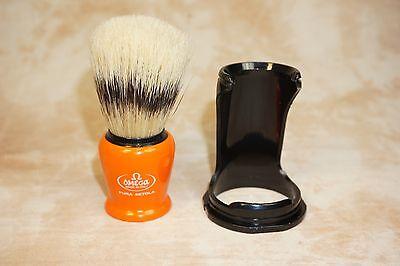 Bristle Shaving Brush (Omega Shaving Brush #80257  Banded Boar Bristle w/Stand )