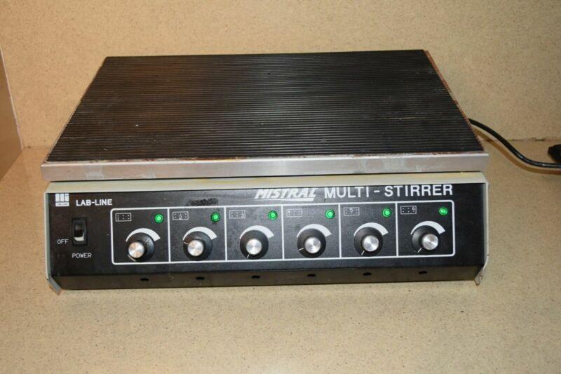 LAB-LINE MISTRAL MULTI-STIRRER MODEL 1288