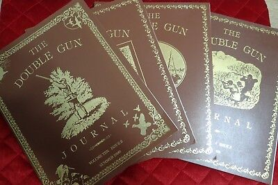 The Double Gun Journal - MIXED LOT - Vol. 10 Issue 2 & 3 - Vol 11 Issue 1 & 3