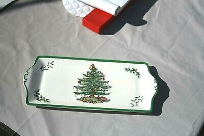 Spode Christmas Tree Rectangular Platter 13