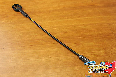 1987-2011 Dodge Dakota Left Side Tail Gate Retaining Cable Strap Mopar OEM