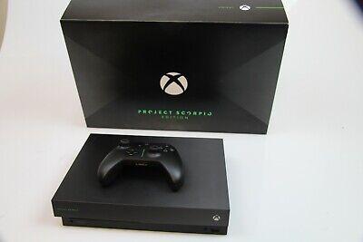 Microsoft Xbox One X Project Scorpio Edition 1TB Black Console