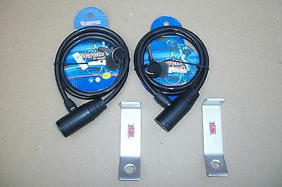 LOT 2 CODYCO ALUMINUM SECURITY LOCK BRACKETS MADE TO FIT ORCA COOLER OVERBEND