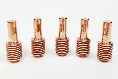 5 Pcs 420120 Fits Hypertherm Powermax 30 Xp Aftermarket Electrode Usa Ship