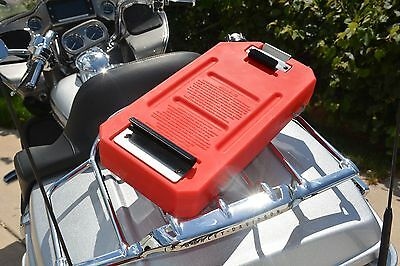 1.25 Gallon Gasflask Fuel Packgas Containerfuel Can Fits Harley Davidson Bikes
