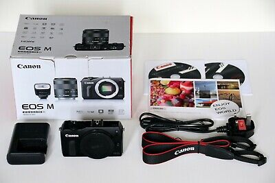 Perfect Canon EOS M 18.0 MP Mirrorless Digital Camera Body, Boxed.