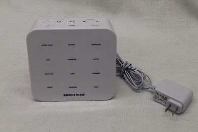 Sharper Image Digital Tranquility Sound Soother White Noise Machine Better