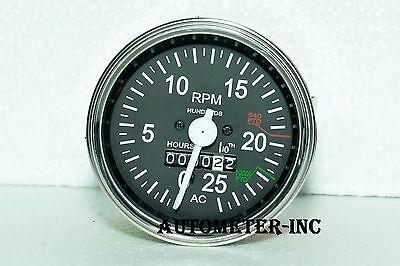 Allis Chalmers Tractor Tachometer 180 185 200 210 220 190 190xt- Gas Diesel