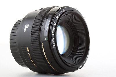 Objectif Canon EF 50mm 1:1,4 USM pour EOS: 750D 70D 7D 5D 1d... (1.4) Garanti usato  Spedire a Italy