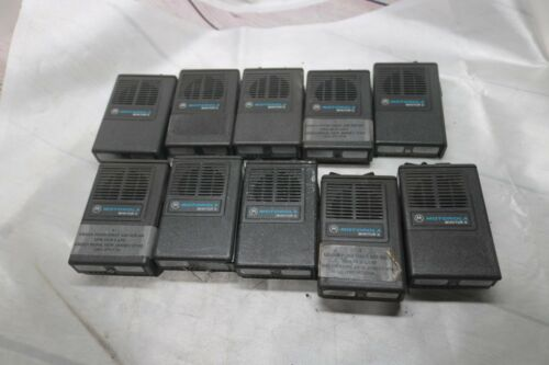 Lot of 10 Motorola Minitor II Fire Low Band Pager Radio Pager